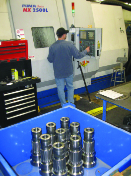 Center Rock Machining Process