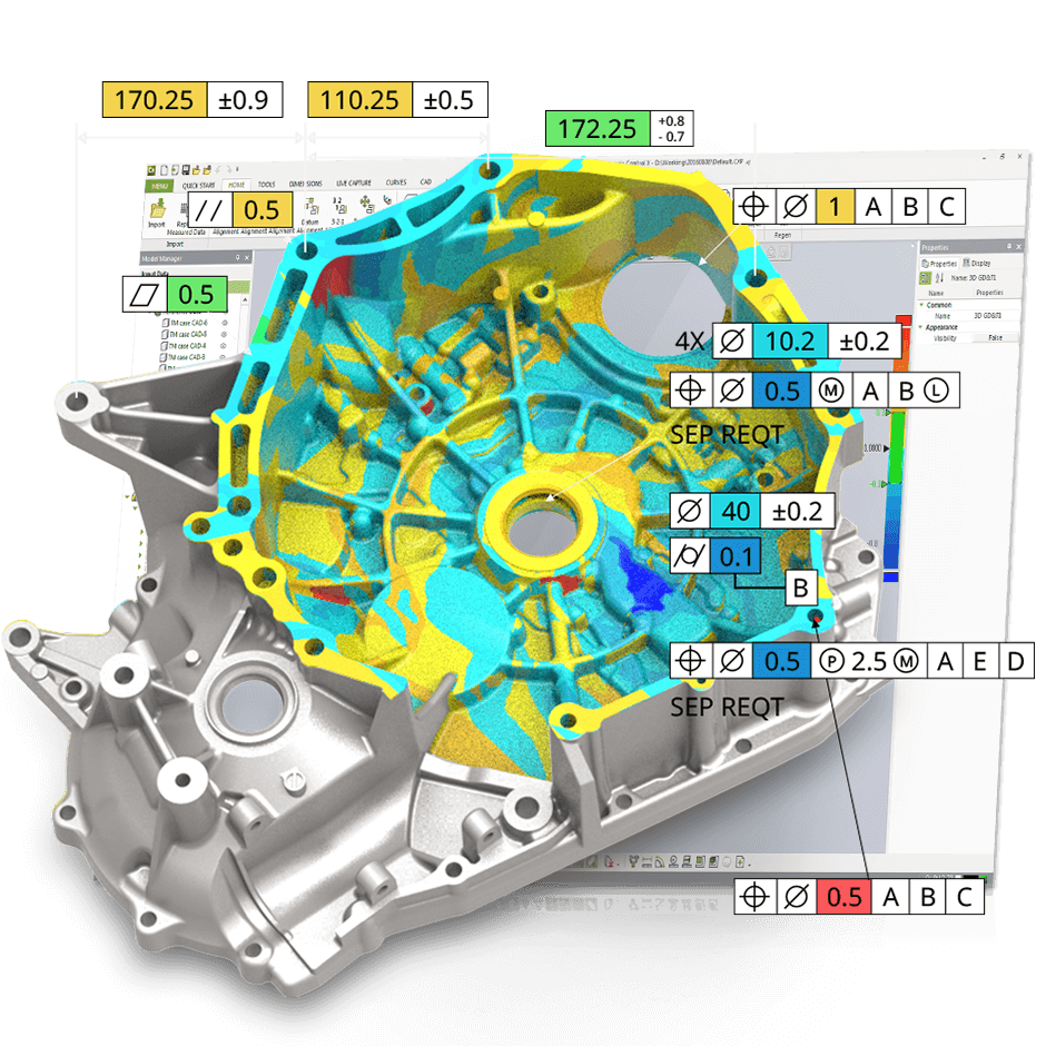 Geomagic Control X Metrology And 3D Inspection Software